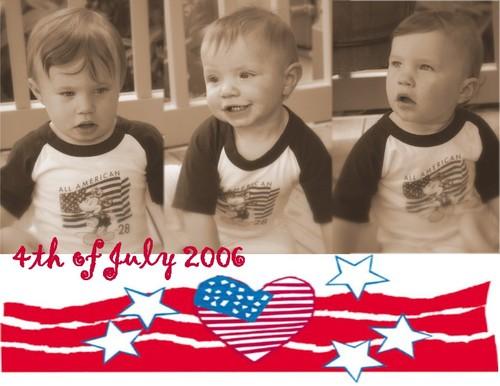 Our Patriotic Boys!